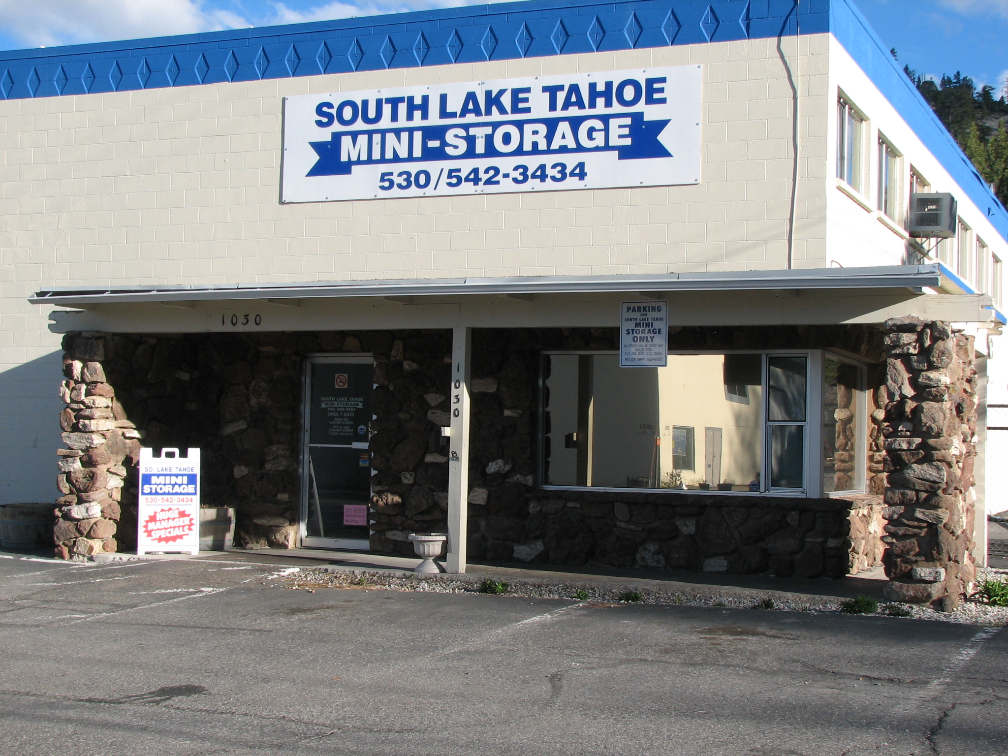 Beautiful 1030 Industrial Ave. 1030 Industrial Avenue. South Lake Tahoe Mini Storage